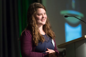 laura south speaks at scholarship luncheon