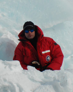 CSU Biology Professor Shane Kanatous will study leopard seals on the ice in Antarctica.