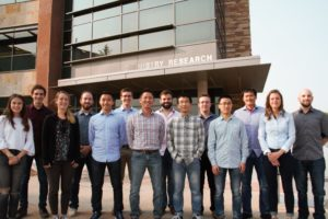 The Miyake Research Group designs and produces new polymer materials