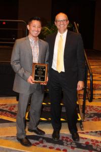 CSU chemistry professor Garret Miyake received the prestigious Mark Yound Scholar Award