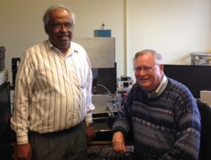 Jim Sites And Mechanical Engineering Professor Walajabad Sampath