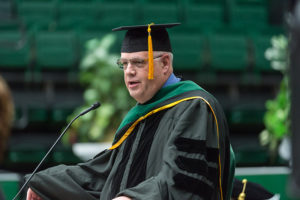 Dr. Brent Keeler CNS fall 2017 commencement speaker
