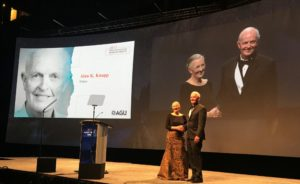 Alan Knapp was inducted as a fellow in the American Geophysical Union