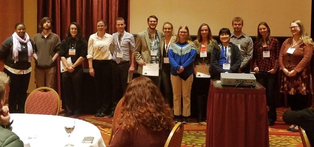CSU student awardees at ACS Rocky Mountain Regional Conferene