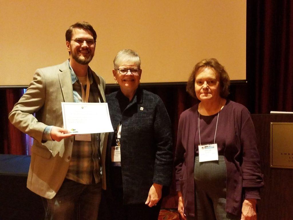 ACS Regional Conference Jordan Koehn award winner