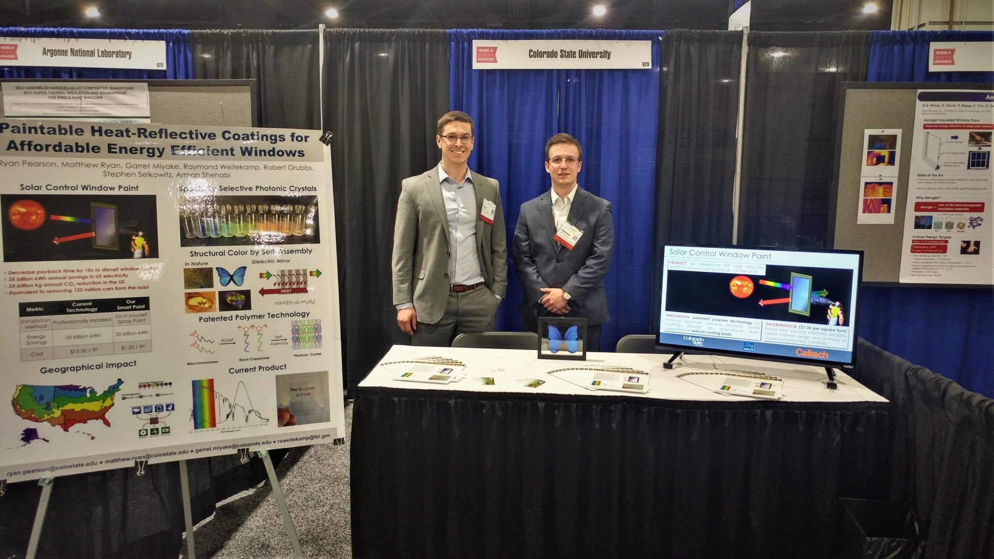 Image of Ryan Pearson and Matthew ryan in Washington, D.C. at the ARPA-E summit