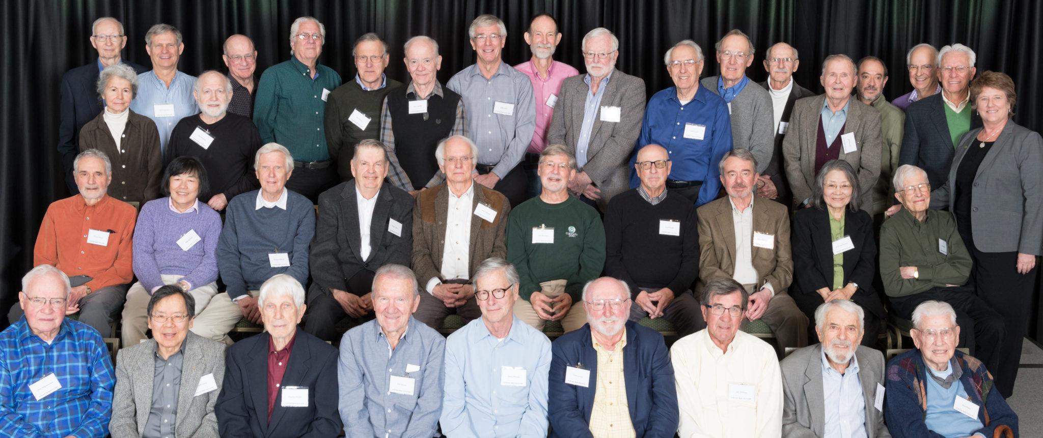 faculty emeritus breakfast group 2018