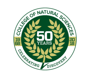 college 50th logo