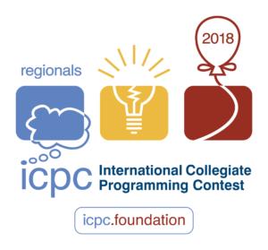 ACM ICPC 2018 logo