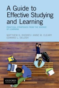 A guide to effective learning and studying book cover