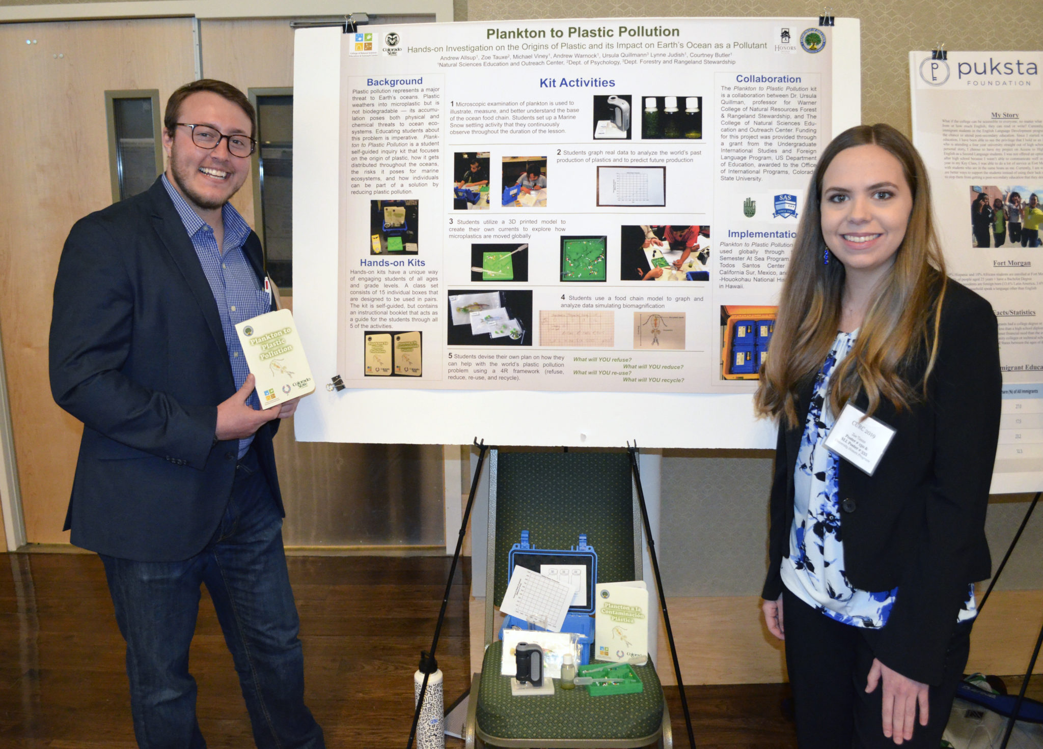 Students collaborate to develop tool kit for ocean plastics