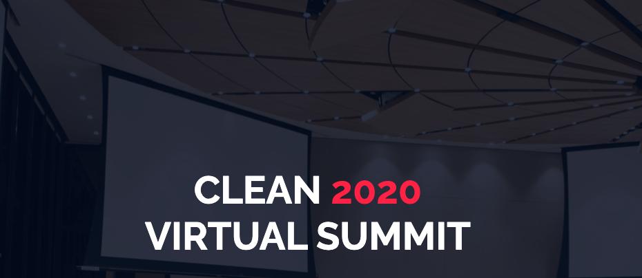 clean 2020 virtual summit heading