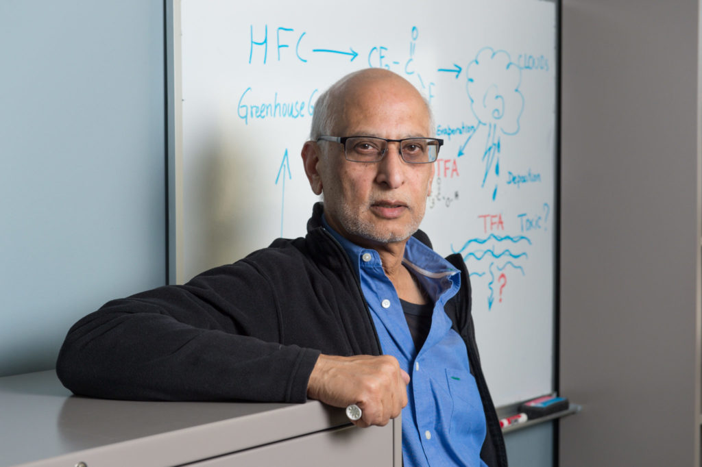 A.R. Ravishankara, Professor of Chemistry and Atmospheric Sciences, Colorado State University, January 16, 2014
