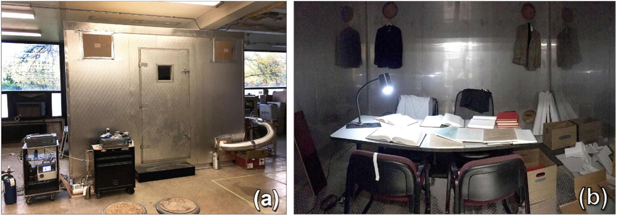 air purifier experiment setup