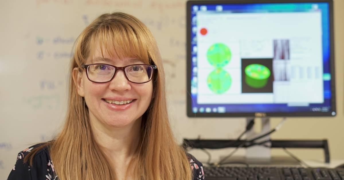Jennifer Mueller, math professor